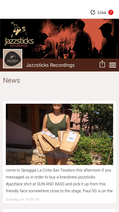 Jazzsticks Recordings screenshot 1