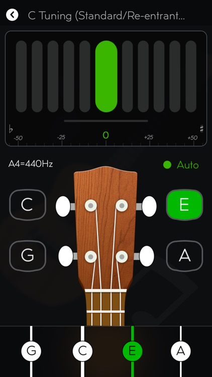 Tunefor Ukulele tuner & chords screenshot-0