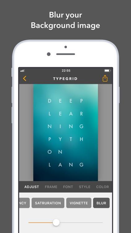 TypeGrid: Typography on Photo screenshot-3