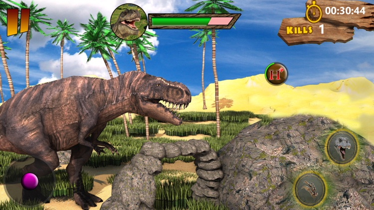 Dinosaur Jungle Simulator 2018 by Five River Solutions
