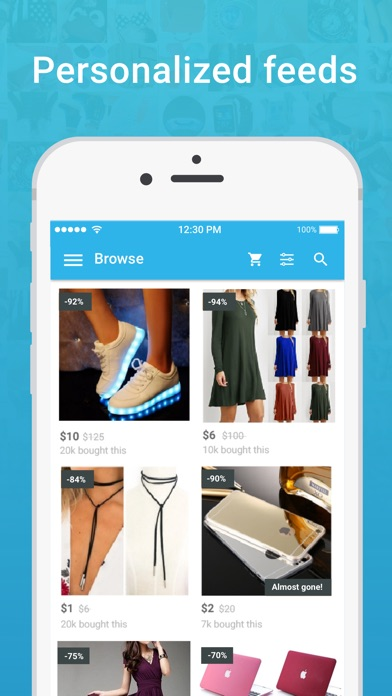 Wish - Shopping Made Fun app image
