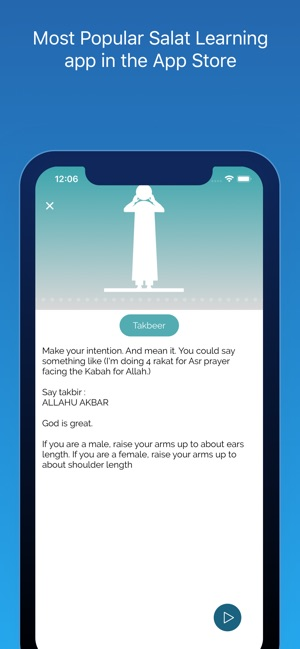 Salat Learning (Salah) on the App Store