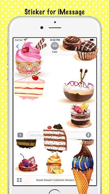 Sweet Dessert Collection Stickers