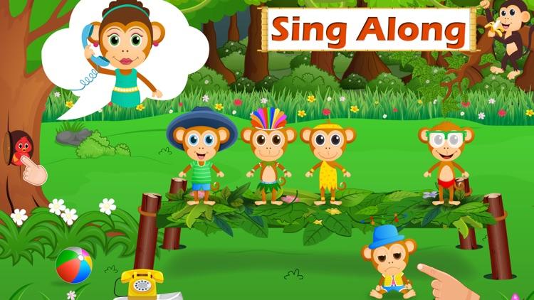 Five Little Monkeys Jumping screenshot-0