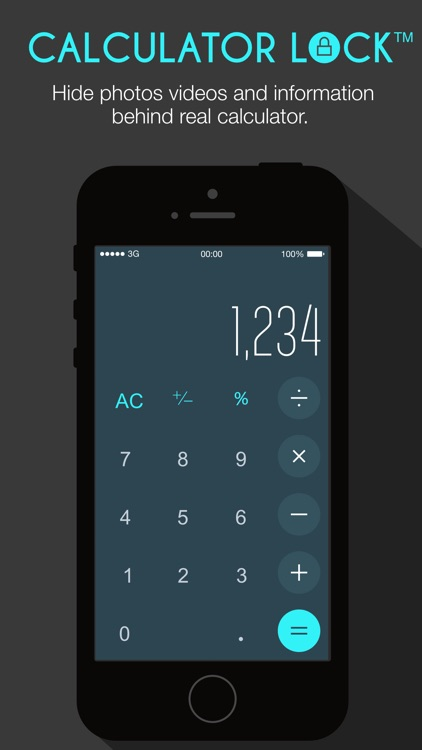 Calculator Lock -Private Photo