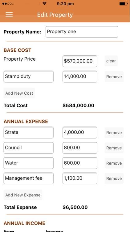 Property Yield Calculator