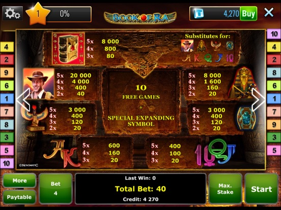 book of ra slot tips