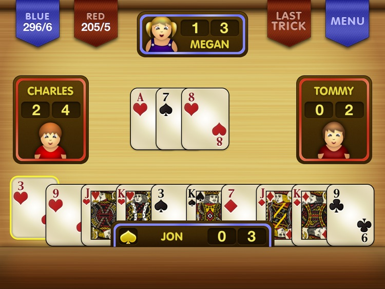 Spades HD! screenshot-0