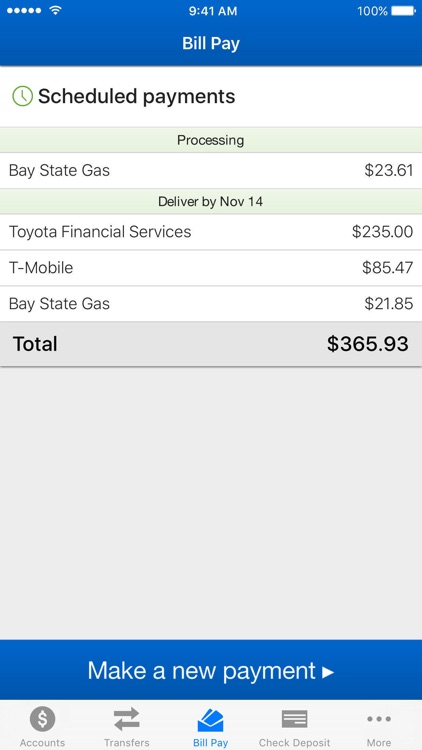 HEBFCU Mobile Banking screenshot-1