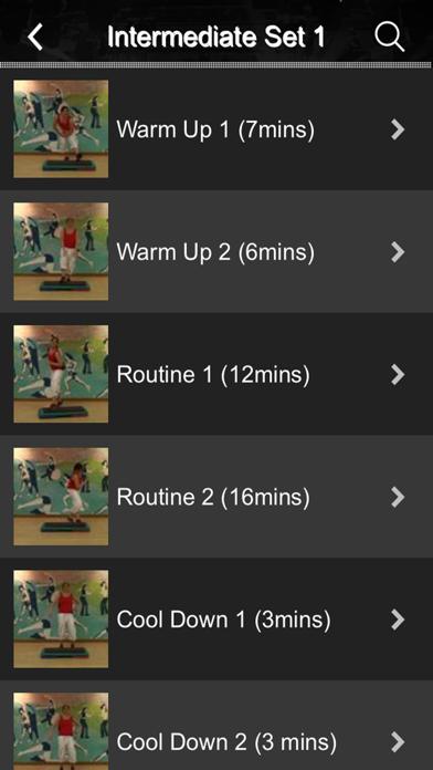 Schritt Tanz FitnessScreenshot von 4