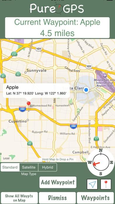 Screenshot for Pure GPS in Lebanon App Store