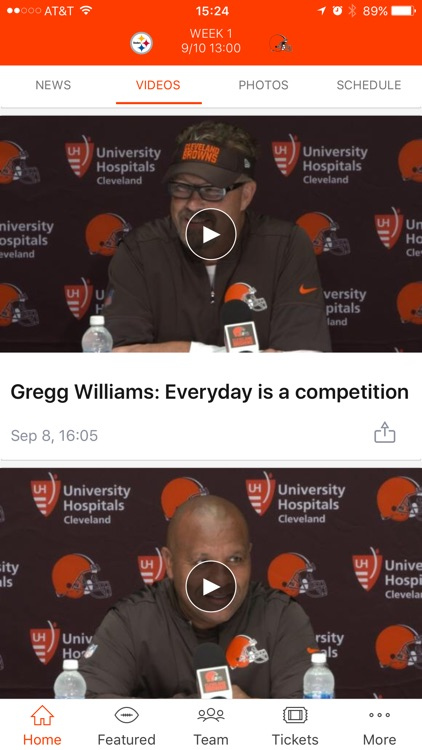 Cleveland Browns screenshot-2
