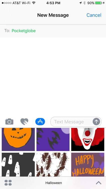 Halloween Boo Sticker Pack