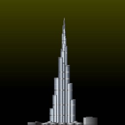 Khalifa Tower: Build the highest Tower ever
