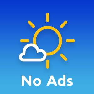 No Ads Meteo app