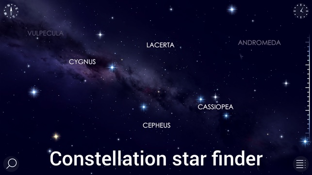 List of Synonyms and Antonyms of the Word: night sky tonight map
