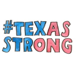 Art For Texas Strong Stickers and iMessage