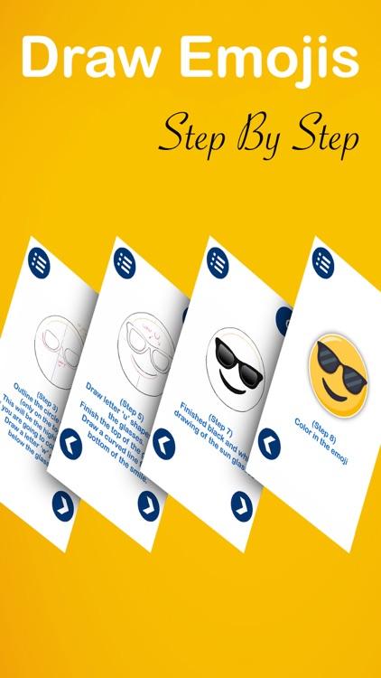 Draw Emojis Step By Step screenshot-3