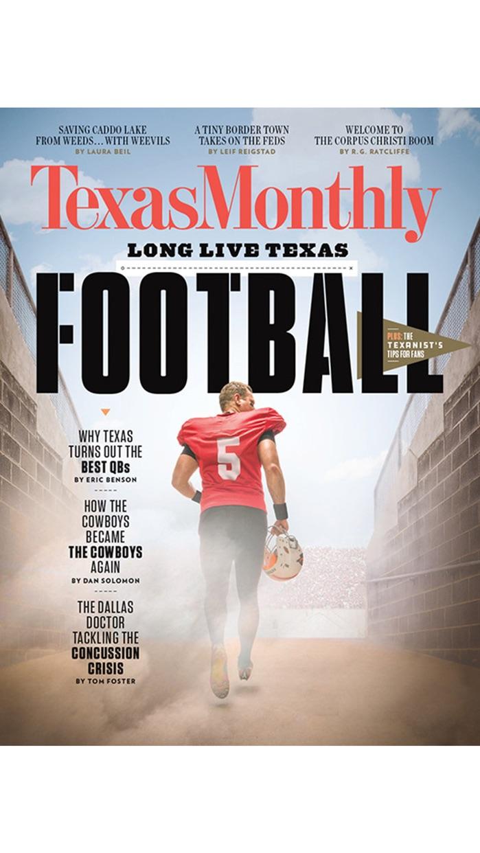 Texas Monthly Screenshot