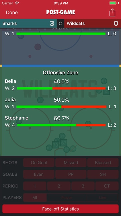Goaliath Hockey Stats Tracker screenshot-9