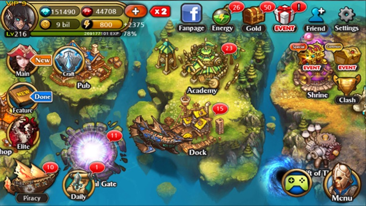 Heroes of Atlan screenshot-3