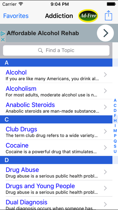 Drug Addiction: Alcoholics & Narcotics Companion