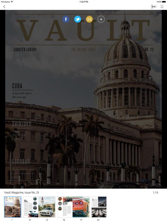 Vault (Magazine) screenshot 8