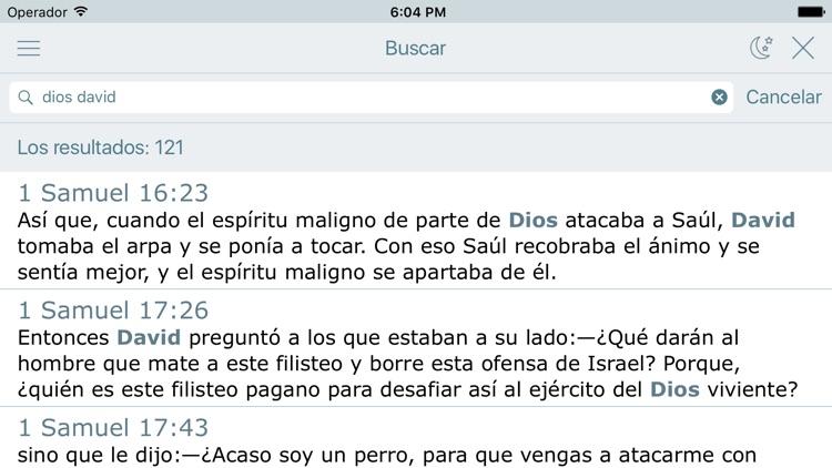 Biblia Dios Habla Hoy en Audio screenshot-3