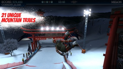 Screenshot from Snowboard Party