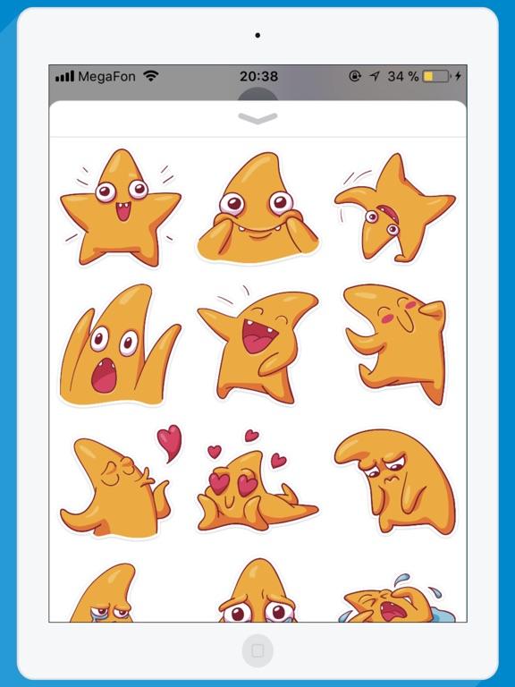 starSTiK Stickers for iMessage-ipad-0