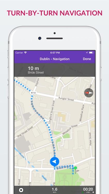 Dublin Offline Map & Guide screenshot-3