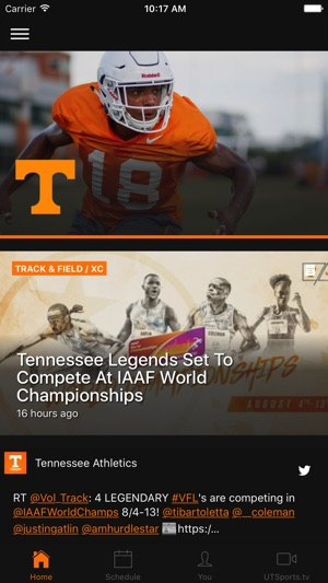 Tennessee Athletics On The App Store