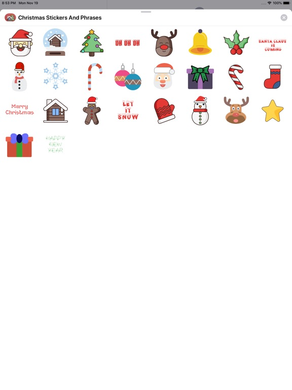 Christmas Stickers And Phrases screenshot 8
