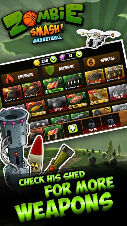 Zombie Smash Basketball - Tower Defense! screenshot-4