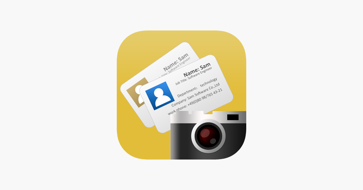 Samcard business card scanner on the app store samcard business card scanner on the app store reheart Gallery