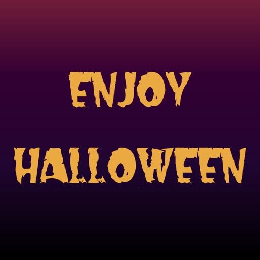 Enjoy Halloween Stickers