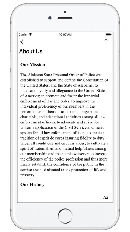 AL Fraternal Order of Police screenshot-2