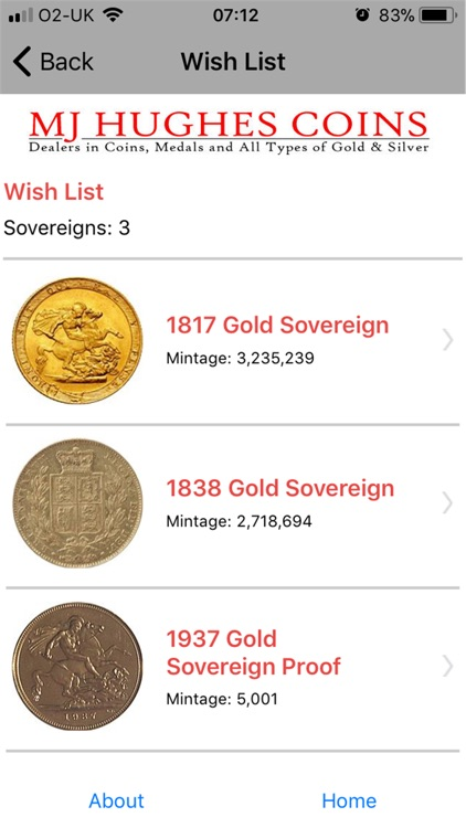 MJH Guide to Gold Sovereigns screenshot-3