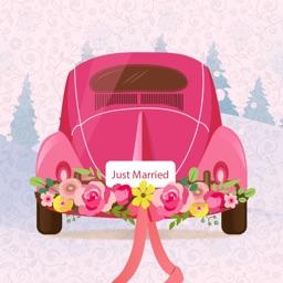 Wedding Party Sticker