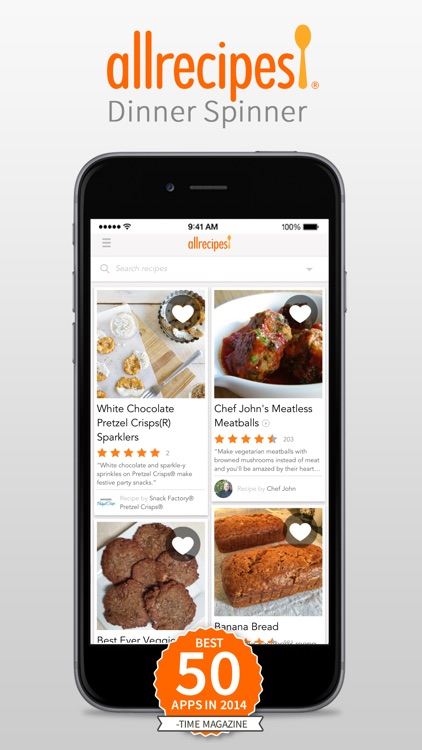Allrecipes Dinner Spinner screenshot-0