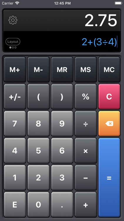 Calculator HD Pro screenshot-3