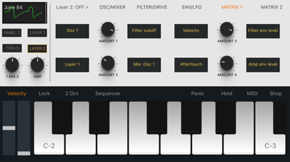 Zeeon synth screenshot three