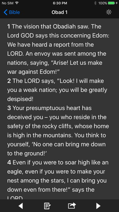 Screenshot for Bible! in United States App Store