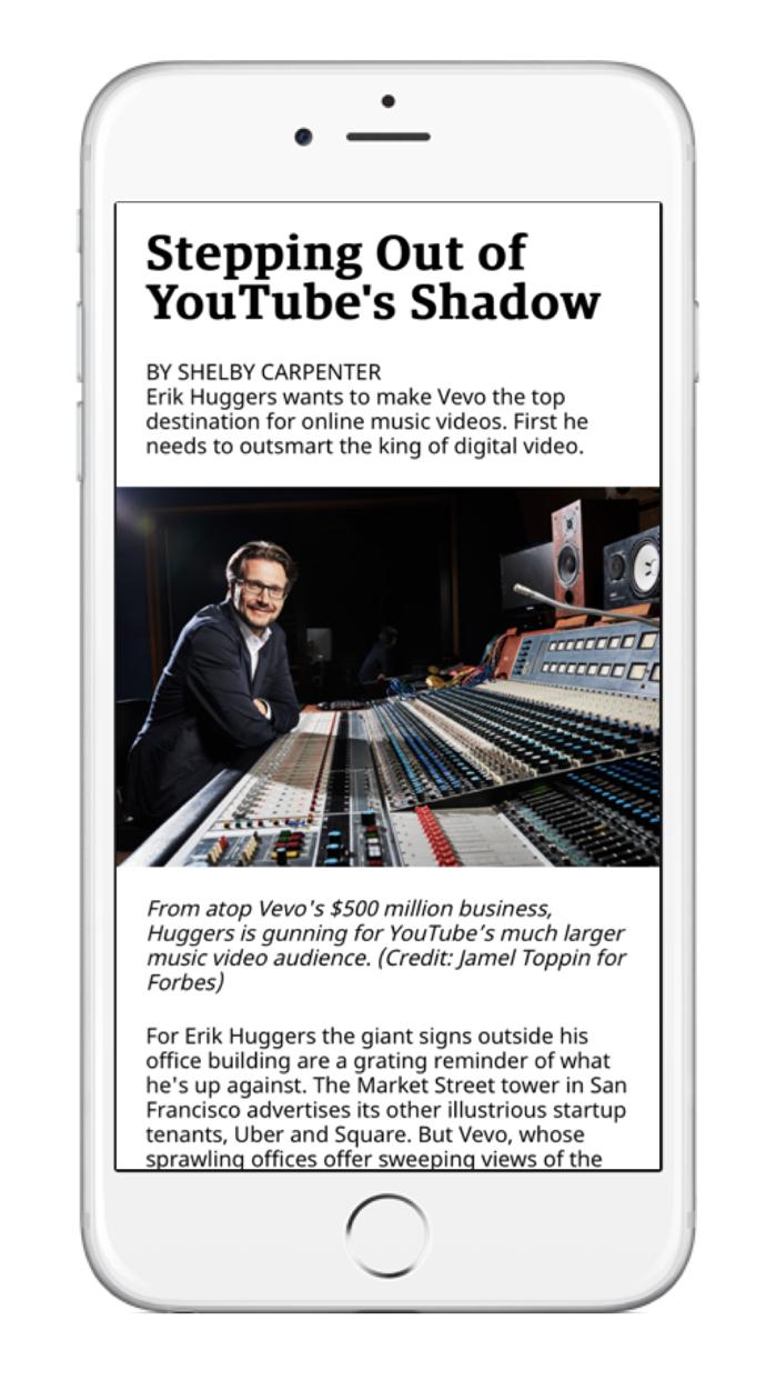 Forbes Magazine Screenshot