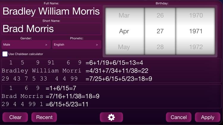 Numerology Calculator HD screenshot-4