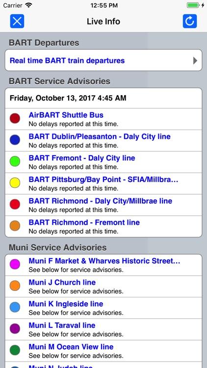 San Francisco Metro from Zuti screenshot-4