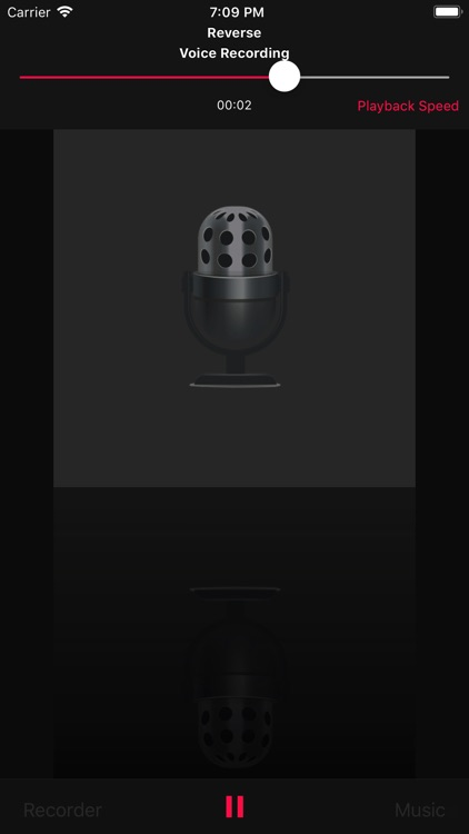 Reverse Music Player screenshot-3