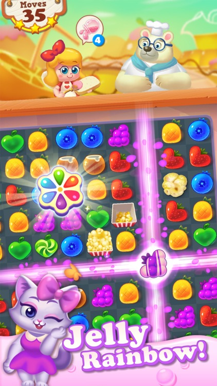 Tasty Treats - A Match 3 Puzzle Game