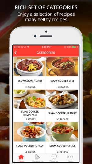 Healthy crockpot recipes on the app store forumfinder Images