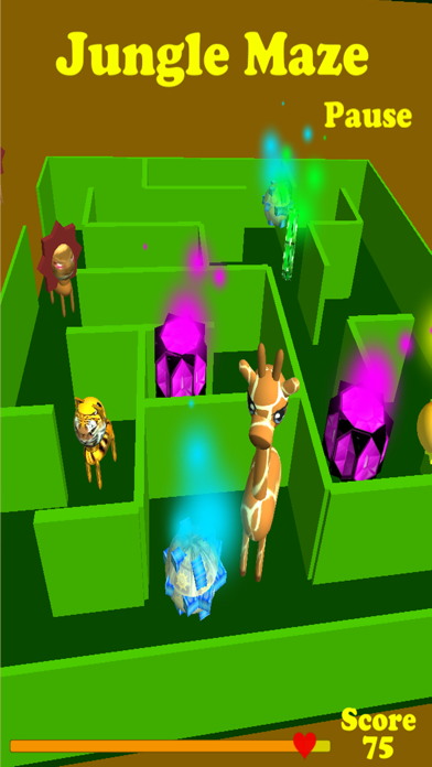 Jungle Maze screenshot three